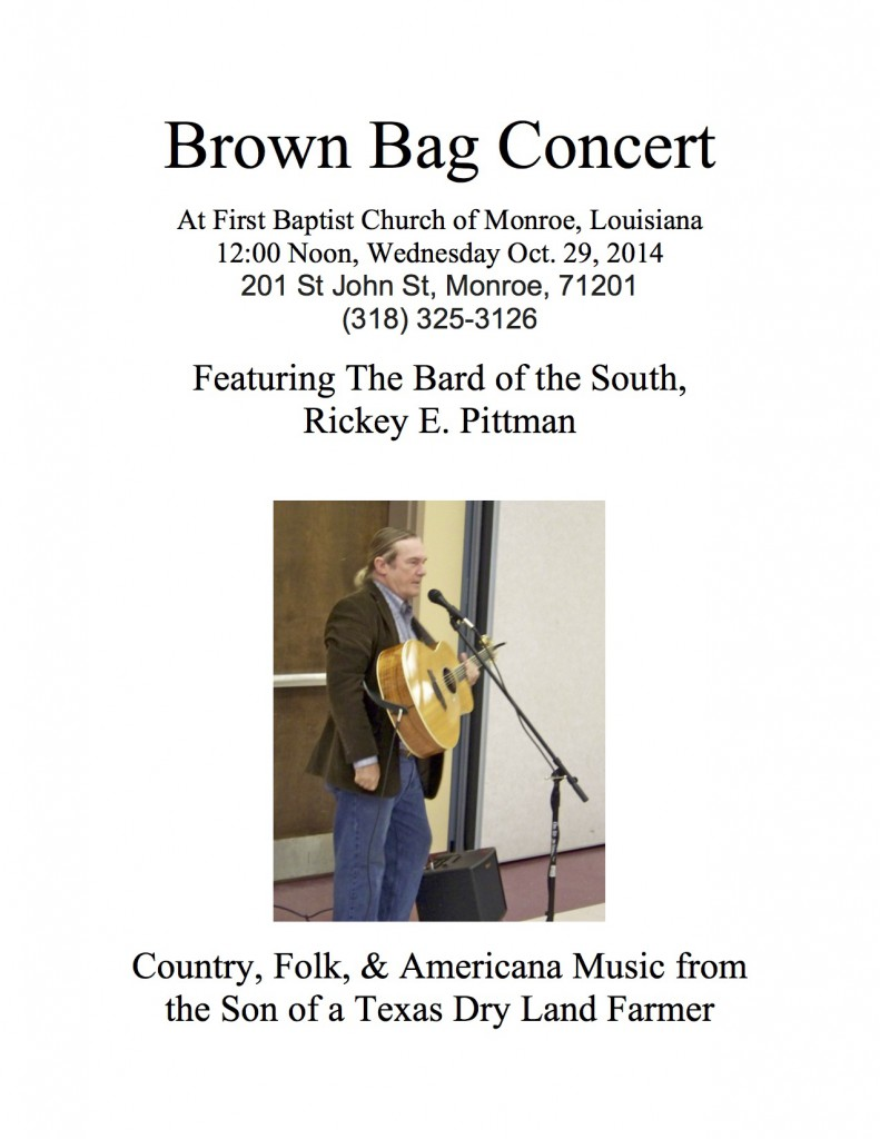 Brown Bag Concert _flier_2014