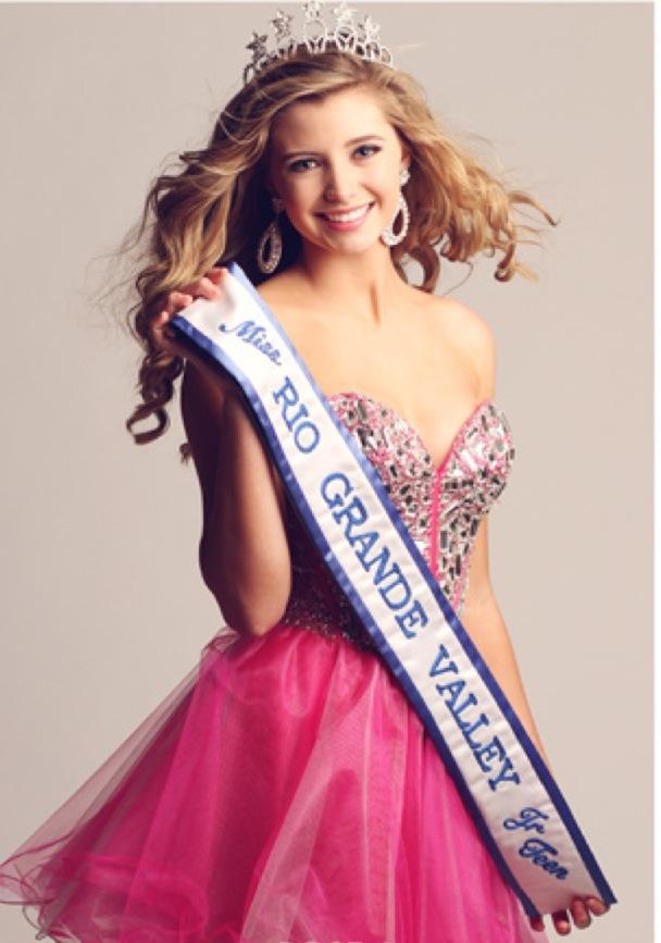 Miss Rio Grande Valley Junior teen Taylor Cooley