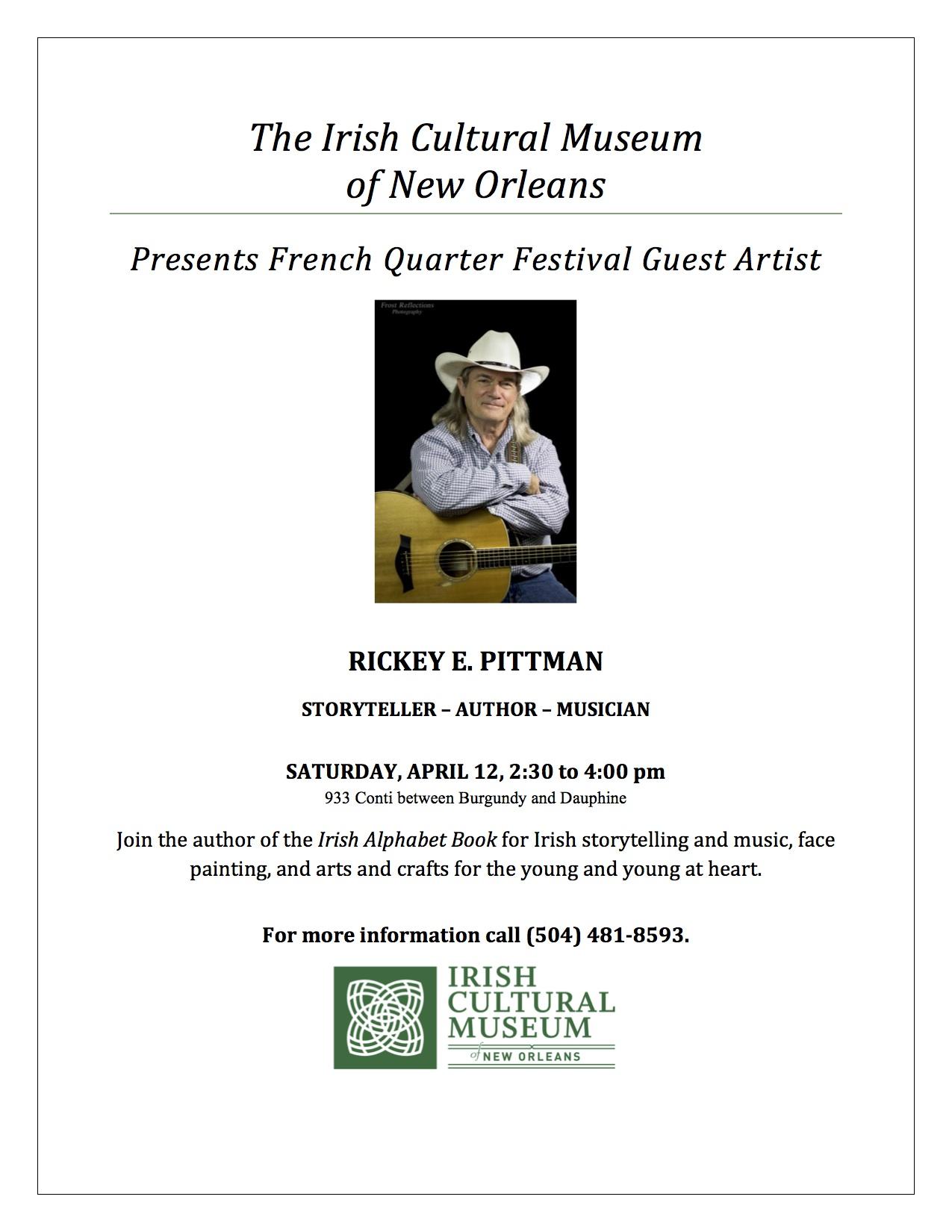 Rickey Pittman poster