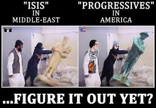 confed statues
